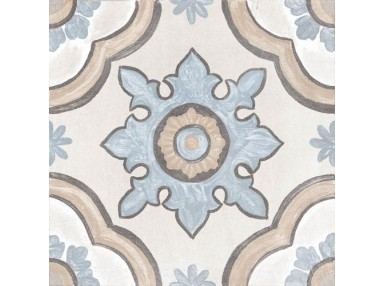 Decor Basma ivory 20x20