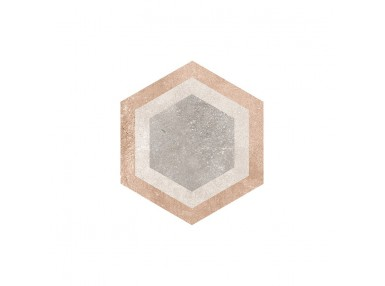 Hexagon bushimills multicolor 23x26,6