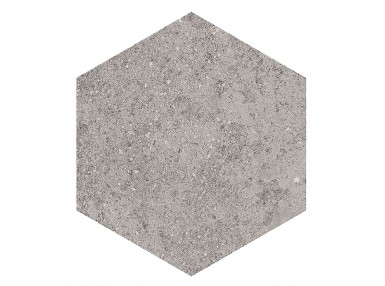 Hexagon Aston Benson gris 23x26,6